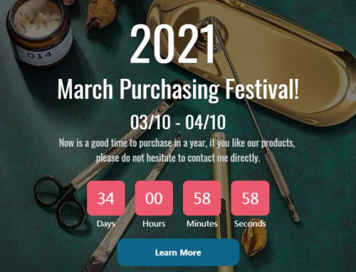 March is Purchasing Month – 2021 March Purchasing Festival!